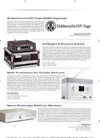 Titelbild der Ausgabe 4/2020 von Süddeutsche HiFi Tage 2020 abgesagt. Zeitschriften als Abo oder epaper bei United Kiosk online kaufen.