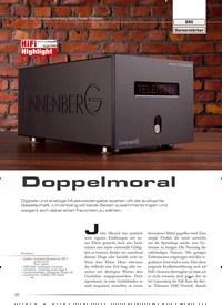 Titelbild der Ausgabe 4/2020 von DAC Vorverstärker: Doppelmoral. Zeitschriften als Abo oder epaper bei United Kiosk online kaufen.