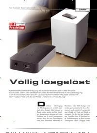 Titelbild der Ausgabe 5/2020 von Zubehör: Test: Funkmodul · Nubert nuConnect trX: Völlig lösgelöst. Zeitschriften als Abo oder epaper bei United Kiosk online kaufen.