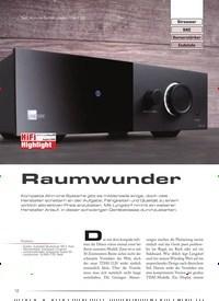 Titelbild der Ausgabe 5/2020 von Test: All-in-one-System Lyngdorf TDAI-1120: Raumwunder. Zeitschriften als Abo oder epaper bei United Kiosk online kaufen.