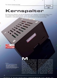 Titelbild der Ausgabe 5/2020 von Test: Streamer Audiodata Roon-Bridge: Kernspalter. Zeitschriften als Abo oder epaper bei United Kiosk online kaufen.