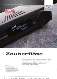 Titelbild der Ausgabe 5/2020 von Test: DAC-Vorverstärker Elac Alchemy DDP-2: Zauberflöte. Zeitschriften als Abo oder epaper bei United Kiosk online kaufen.