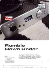 Titelbild der Ausgabe 5/2020 von Test: Kopfhörerverstärker Burson Audio Conductor 3X Performance: Rumble Down Under. Zeitschriften als Abo oder epaper bei United Kiosk online kaufen.