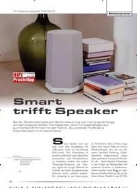 Titelbild der Ausgabe 5/2020 von Test: Streaming-Lautsprecher Teufel Holist M: Aktivlautsprecher: Smart trifft Speaker. Zeitschriften als Abo oder epaper bei United Kiosk online kaufen.
