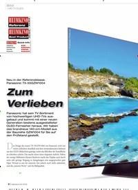 Titelbild der Ausgabe 8/2019 von Bild: UHD-TV (OLED): Zum Verlieben. Zeitschriften als Abo oder epaper bei United Kiosk online kaufen.