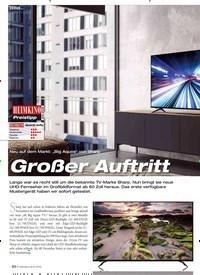 Titelbild der Ausgabe 8/2019 von Bild: LCD-TV (LED): Großer Auftritt. Zeitschriften als Abo oder epaper bei United Kiosk online kaufen.