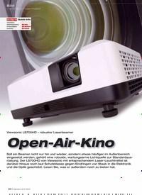 Titelbild der Ausgabe 9/2019 von Viewsonic LS700HD – robuster Laserbeamer: Open-Air-Kino. Zeitschriften als Abo oder epaper bei United Kiosk online kaufen.