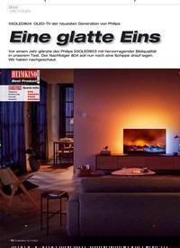 Titelbild der Ausgabe 12/2019 von UHD-TV (OLED): Eine glatte Eins. Zeitschriften als Abo oder epaper bei United Kiosk online kaufen.