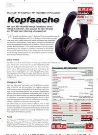 Titelbild der Ausgabe 12/2019 von Kopfhörer: Kopfsache. Zeitschriften als Abo oder epaper bei United Kiosk online kaufen.