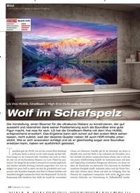 Titelbild der Ausgabe 12/2019 von UHD-HDR-DLP-Ultrakurzdistanz-Projektor: Wolf im Schafspelz. Zeitschriften als Abo oder epaper bei United Kiosk online kaufen.