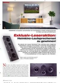 Titelbild der Ausgabe 1/2020 von Leseraktion: Exklusiv-Leseraktion: Heimkino-Lautsprecherset zu gewinnen!. Zeitschriften als Abo oder epaper bei United Kiosk online kaufen.