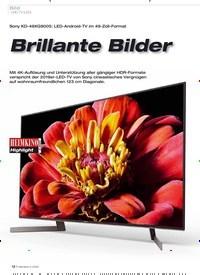 Titelbild der Ausgabe 2/2020 von Sony KD-49XG9005: LED-Android-TV im 49-Zoll-Format: Brillante Bilder. Zeitschriften als Abo oder epaper bei United Kiosk online kaufen.