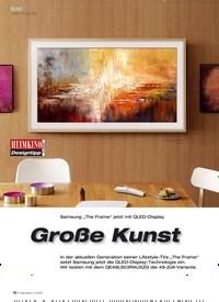 """Titelbild der Ausgabe 2/2020 von Samsung """"The Frame"""" jetzt mit QLED-Display: Große Kunst. Zeitschriften als Abo oder epaper bei United Kiosk online kaufen."""