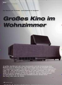Titelbild der Ausgabe 2/2020 von Der Beamer als TV-Ersatz – zwei Systeme im Vergleich: Großes Kino im Wohnzimmer. Zeitschriften als Abo oder epaper bei United Kiosk online kaufen.