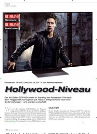 Titelbild der Ausgabe 3/2020 von Bild: UHD-TV (OLED): Hollywood-Niveau. Zeitschriften als Abo oder epaper bei United Kiosk online kaufen.