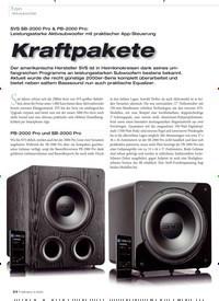 Titelbild der Ausgabe 3/2020 von Aktivsubwoofer: Kraftpakete. Zeitschriften als Abo oder epaper bei United Kiosk online kaufen.