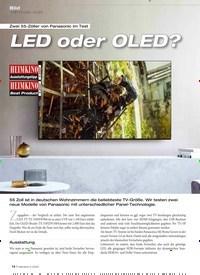 Titelbild der Ausgabe 5/2020 von Bild: UHD-TV (LED + OLED): Zwei 55-Zöller von Panasonic im Test: LED oder OLED?. Zeitschriften als Abo oder epaper bei United Kiosk online kaufen.