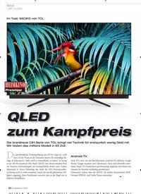 Titelbild der Ausgabe 5/2020 von Bild: UHD-TV (LED): Im Test: 65C815 von TCL: QLED zum Kampfpreis. Zeitschriften als Abo oder epaper bei United Kiosk online kaufen.