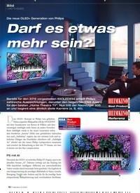 Titelbild der Ausgabe 6/2020 von Bild · UHD-TV (OLED): Die neue OLED+ Generation von Philips: Darf es etwas mehr sein?. Zeitschriften als Abo oder epaper bei United Kiosk online kaufen.