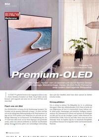 Titelbild der Ausgabe 6/2020 von Bild · UHD-TV (OLED): Referenz-TV LG OLED65GX9LA im Test: Premium-OLED. Zeitschriften als Abo oder epaper bei United Kiosk online kaufen.