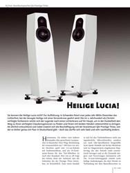 Titelbild der Ausgabe 1/2019 von Test: Standlautsprecher Qln Prestige Three: Heilige Lucia!. Zeitschriften als Abo oder epaper bei United Kiosk online kaufen.