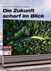 Titelbild der Ausgabe 12/2019 von UHD-TV (8K) OLED: Die Zukunft scharf im Blick. Zeitschriften als Abo oder epaper bei United Kiosk online kaufen.