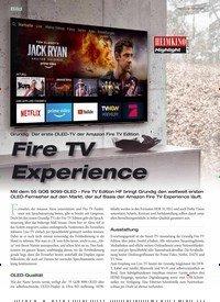 Titelbild der Ausgabe 2/2020 von Grundig: Der erste OLED-TV der Amazon Fire TV Edition: Fire TV Experience. Zeitschriften als Abo oder epaper bei United Kiosk online kaufen.