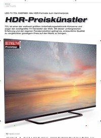 Titelbild der Ausgabe 3/2020 von Bild: UHD-TV (LED): HDR-Preiskünstler. Zeitschriften als Abo oder epaper bei United Kiosk online kaufen.