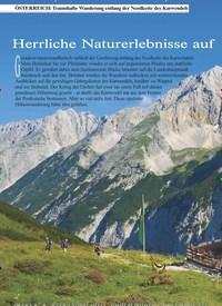 Titelbild der Ausgabe 3/2019 von ÖSTERREICH: Traumhafte Wanderung entlang der Nordkette des Karwendels: Österreich. Zeitschriften als Abo oder epaper bei United Kiosk online kaufen.