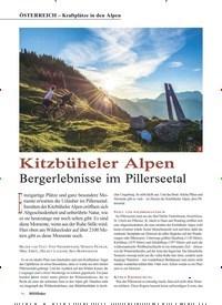 Titelbild der Ausgabe 3/2019 von ÖSTERREICH – Kraftplätze in den Alpen: Kitzbüheler Alpen. Zeitschriften als Abo oder epaper bei United Kiosk online kaufen.
