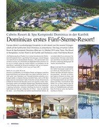 Titelbild der Ausgabe 1/2020 von Cabrits Resort & Spa Kempinski Dominica in der Karibik: Dominicas erstes Fünf-Sterne-Resort!. Zeitschriften als Abo oder epaper bei United Kiosk online kaufen.