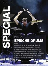 Titelbild der Ausgabe 3/2019 von EPISCHE DRUMS: SPECIAL INTRO: EPISCHE DRUMS. Zeitschriften als Abo oder epaper bei United Kiosk online kaufen.