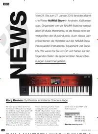 Titelbild der Ausgabe 4/2019 von NEWS. Zeitschriften als Abo oder epaper bei United Kiosk online kaufen.
