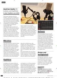 Titelbild der Ausgabe 6/2019 von Austrian Audio: Mikrofone und Kopfhörer in der Tradition von AKG. Zeitschriften als Abo oder epaper bei United Kiosk online kaufen.