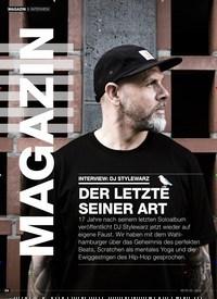 Titelbild der Ausgabe 6/2019 von INTERVIEW: DJ STYLEWARZ DER LETZTE SEINER ART. Zeitschriften als Abo oder epaper bei United Kiosk online kaufen.