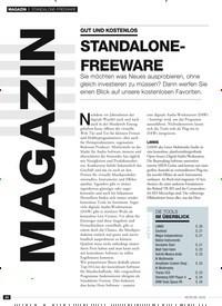 Titelbild der Ausgabe 8/2019 von STANDALONE-FREEWARE: GUT UND KOSTENLOS: STANDALONEFREEWARE. Zeitschriften als Abo oder epaper bei United Kiosk online kaufen.