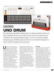Titelbild der Ausgabe 10/2019 von DRUMCOMPUTER: UNO DRUM. Zeitschriften als Abo oder epaper bei United Kiosk online kaufen.