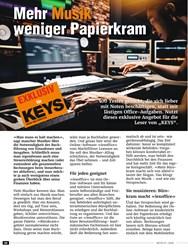 Titelbild der Ausgabe 1/2020 von Mehr Musik weniger Papierkram. Zeitschriften als Abo oder epaper bei United Kiosk online kaufen.