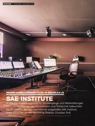 Titelbild der Ausgabe 1/2020 von MEDIEN-AUSBILDUNGSINSTITUTE IM ÜBERBLICK (2): SAE INSTITUTE. Zeitschriften als Abo oder epaper bei United Kiosk online kaufen.