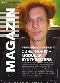 Titelbild der Ausgabe 3/2020 von INTERVIEW: CURETRONIC: 5U-MODULARSYSTEME AUS DEUTSCHLAND (4): CURETRONIC – MODULAR SYNTHESIZERS. Zeitschriften als Abo oder epaper bei United Kiosk online kaufen.