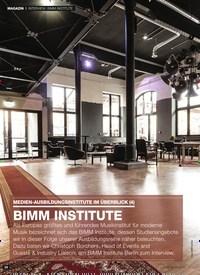 Titelbild der Ausgabe 3/2020 von INTERVIEW: BIMM INSTITUTE: MEDIEN-AUSBILDUNGSINSTITUTE IM ÜBERBLICK (4): BIMM INSTITUTE. Zeitschriften als Abo oder epaper bei United Kiosk online kaufen.