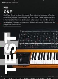 Titelbild der Ausgabe 3/2020 von TEST HARDWARE-SYNTHESIZER: MOOG ONE. Zeitschriften als Abo oder epaper bei United Kiosk online kaufen.