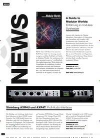 Titelbild der Ausgabe 4/2020 von NEWS: A Guide to Modular Worlds:. Zeitschriften als Abo oder epaper bei United Kiosk online kaufen.