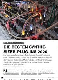 Titelbild der Ausgabe 4/2020 von SYNTHESIZER-PLUG-INS: ELECTRONIC ESSENTIALS (1): DIE BESTEN SYNTHESIZER- PLUG-INS 2020. Zeitschriften als Abo oder epaper bei United Kiosk online kaufen.
