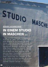 Titelbild der Ausgabe 3/2019 von INTERVIEW: ALEXANDER MENKE: IN EINEM STUDIO IN MASCHEN …. Zeitschriften als Abo oder epaper bei United Kiosk online kaufen.