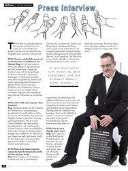 Titelbild der Ausgabe 10/2019 von PERCUSSIONS: Press Interview. Zeitschriften als Abo oder epaper bei United Kiosk online kaufen.