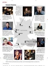 Titelbild der Ausgabe 10/2019 von AKTUELL: Konzert-Termine. Zeitschriften als Abo oder epaper bei United Kiosk online kaufen.
