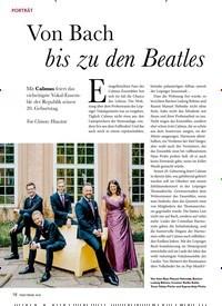 Titelbild der Ausgabe 10/2019 von PORTRÄT: Von Bach bis zu den Beatles. Zeitschriften als Abo oder epaper bei United Kiosk online kaufen.