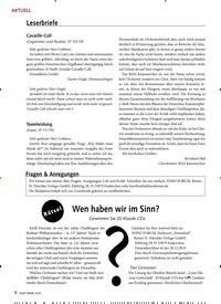 Titelbild der Ausgabe 12/2019 von AKTUELL: Leserbriefe. Zeitschriften als Abo oder epaper bei United Kiosk online kaufen.