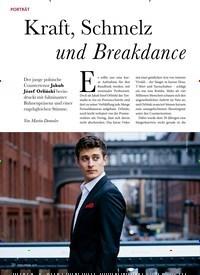 Titelbild der Ausgabe 12/2019 von PORTRÄT: Kraft, Schmelz und Breakdance. Zeitschriften als Abo oder epaper bei United Kiosk online kaufen.